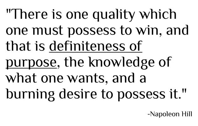 definiteness-of-purpose